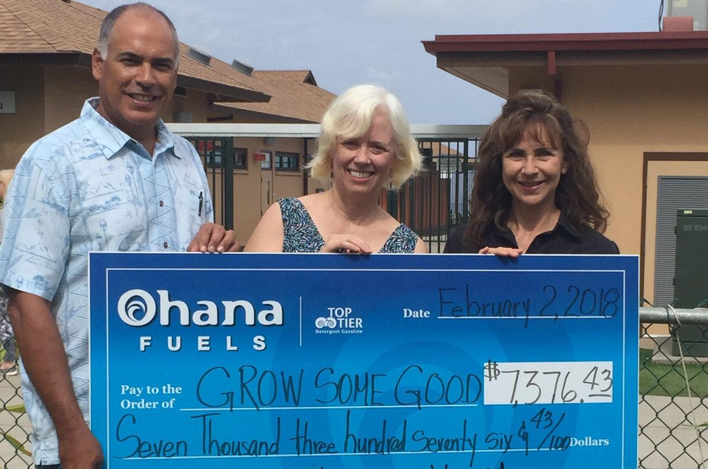 Ohana Fuels Donation