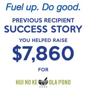 Hui No Ke Ola Pono Fuel Up Do Good
